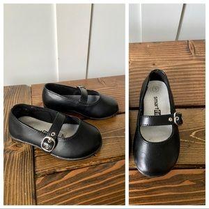 Smartfit Mary Jane Toddler Girl Black Shoes